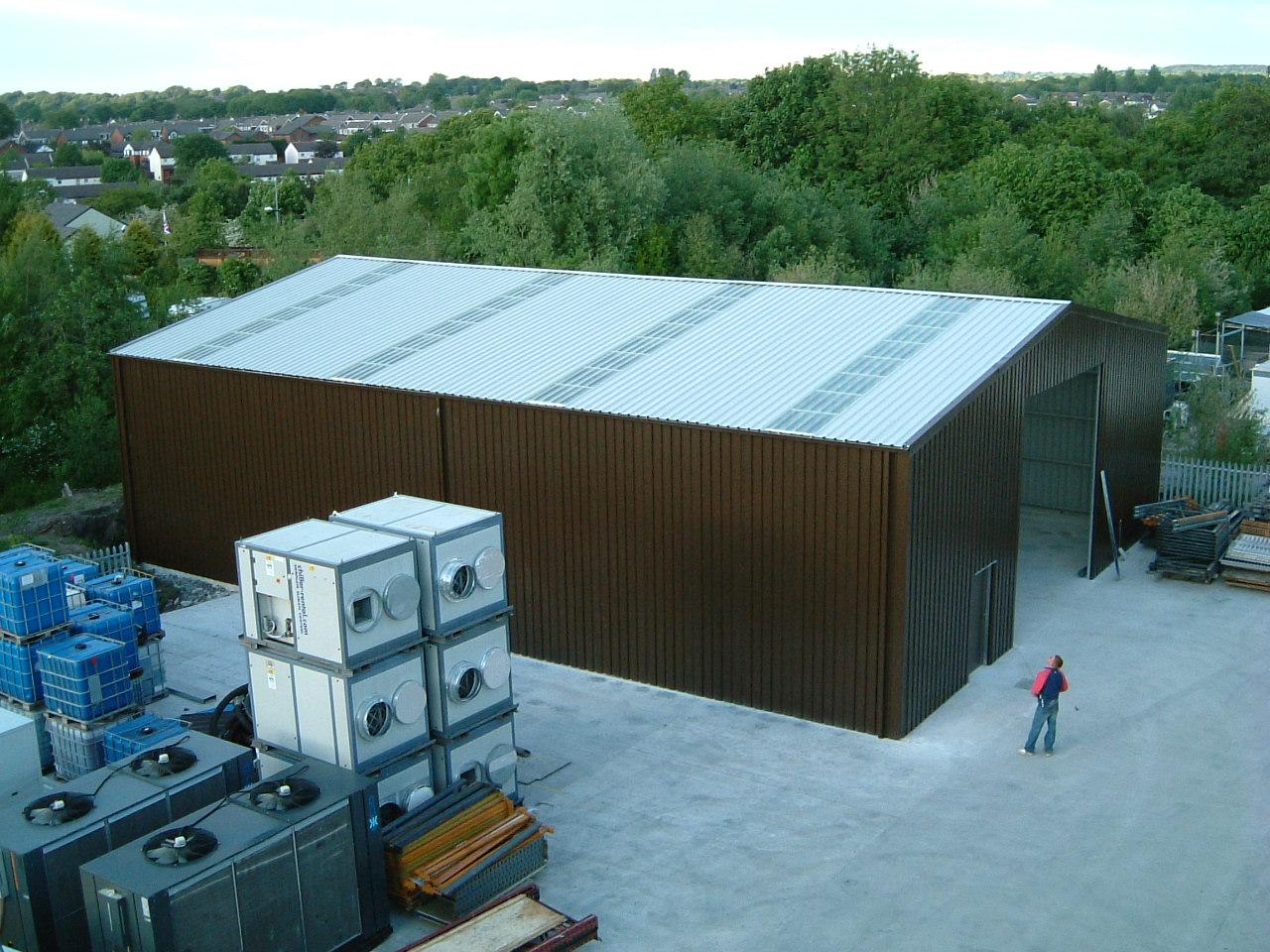 Steel-Building-Industrial-Storage-Skylights