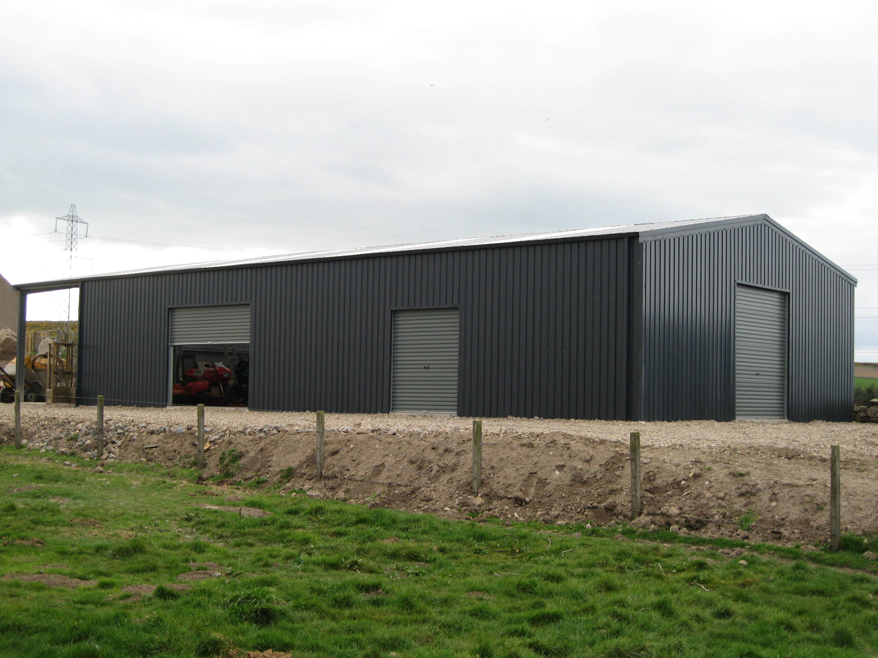 Steel-Warehouse-Multi-Access-Store