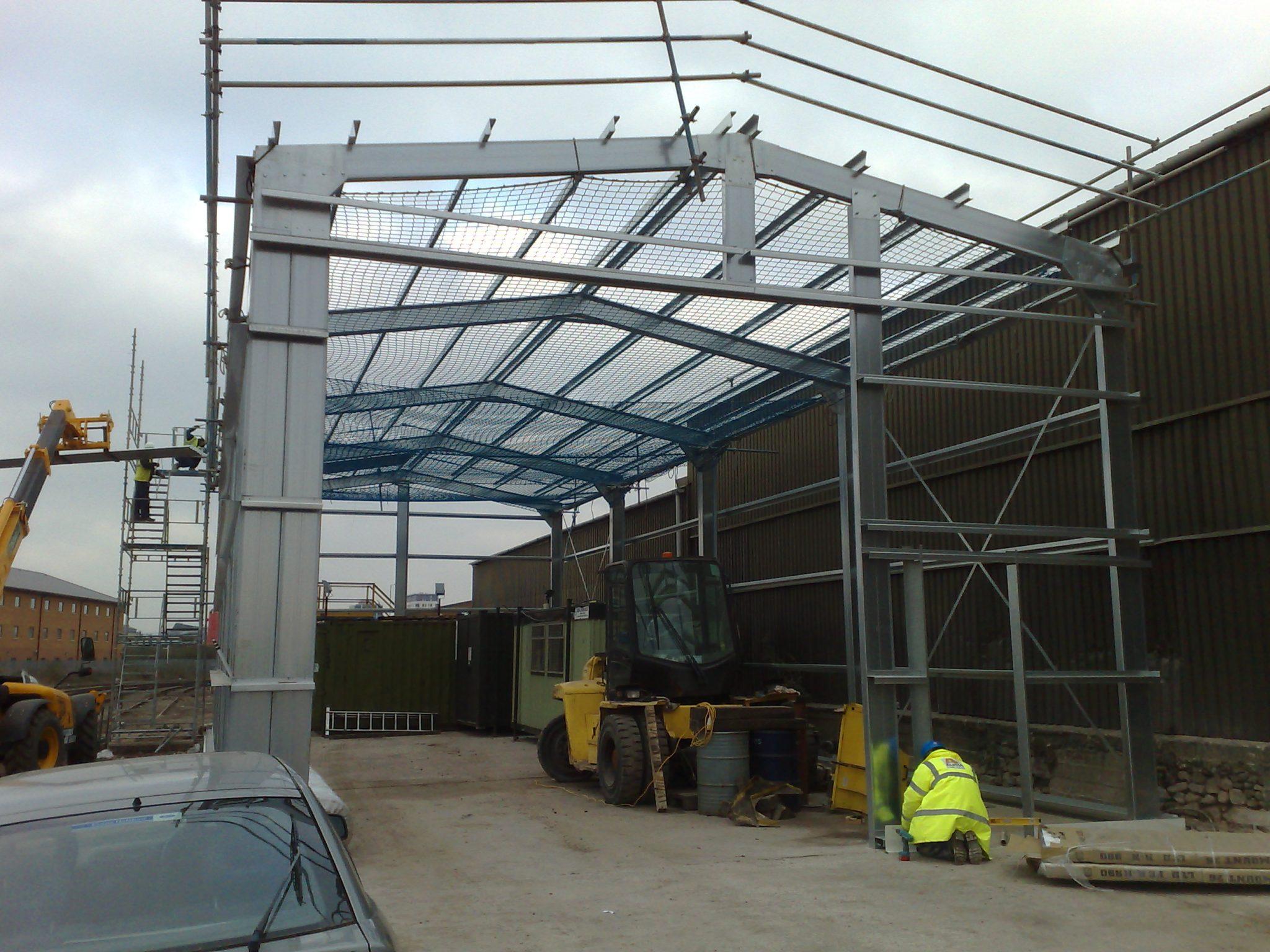 Industrial-Steel-Framed-Building