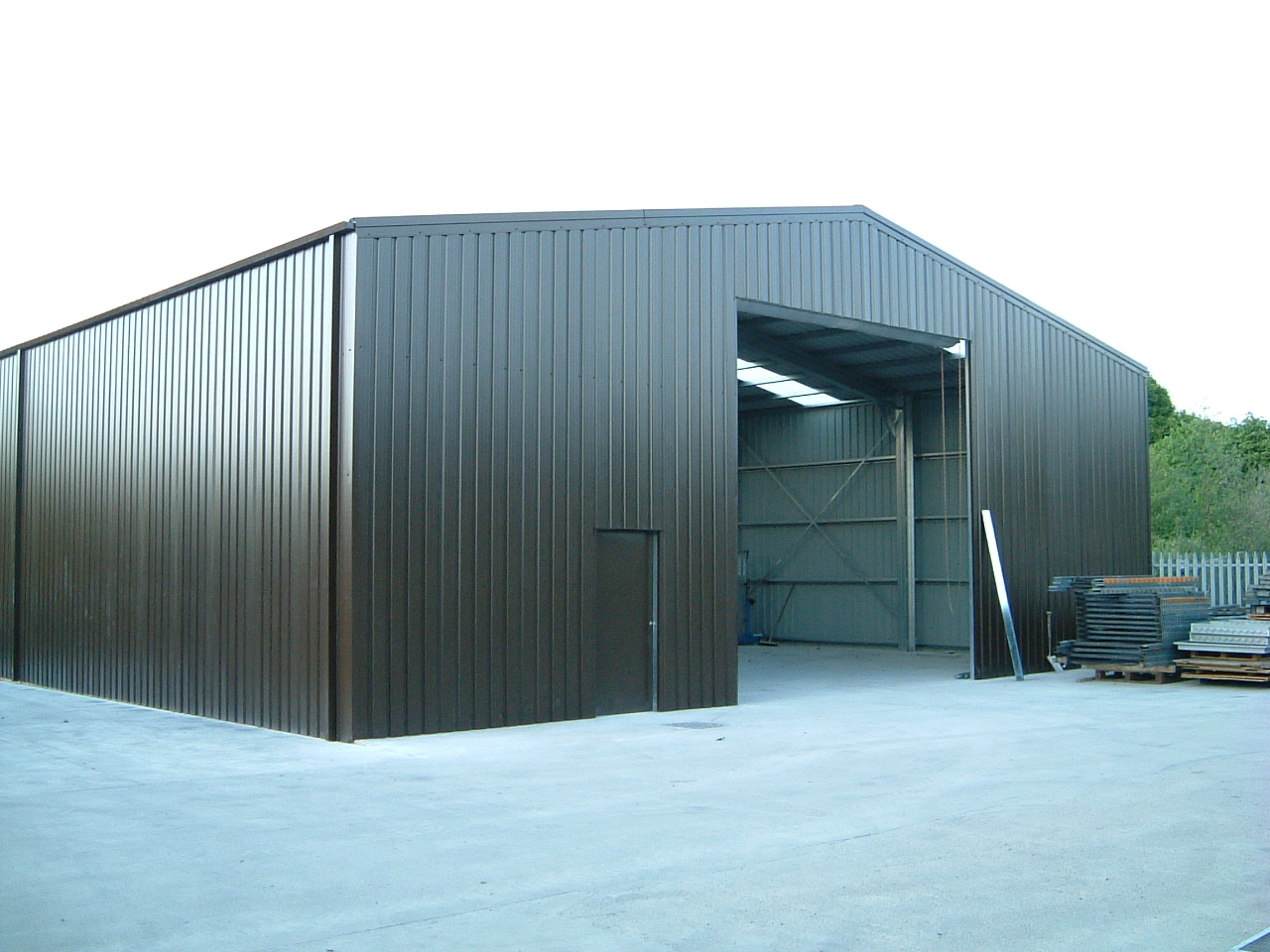Steel Framed Buildings Uk Steel Sheds Steel Kit Buildings
