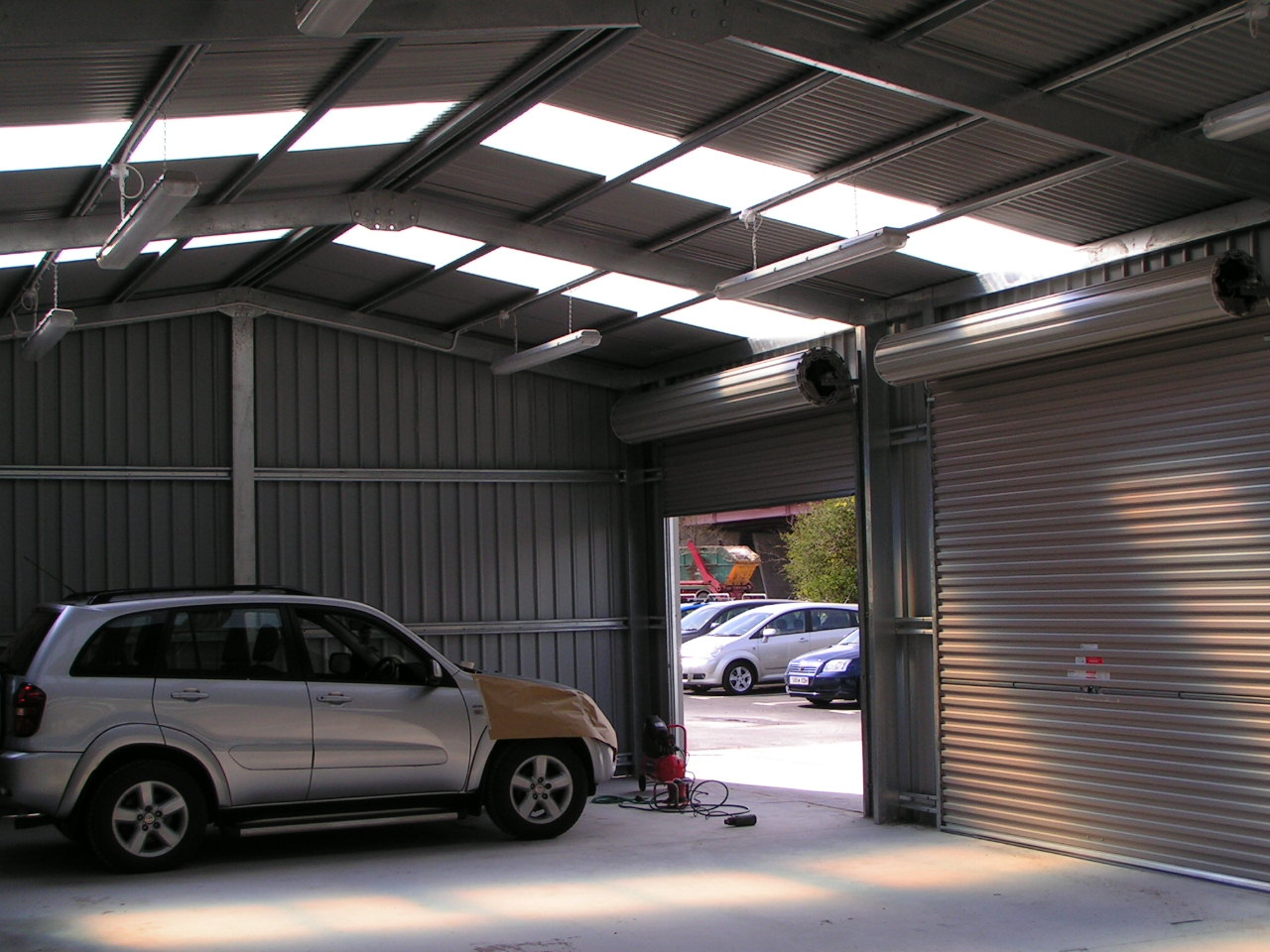 Steel Transport Buildings M O T Station Car Valet Bay