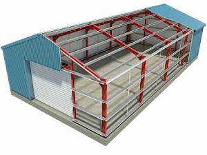 Steel-Building-Cut-Away